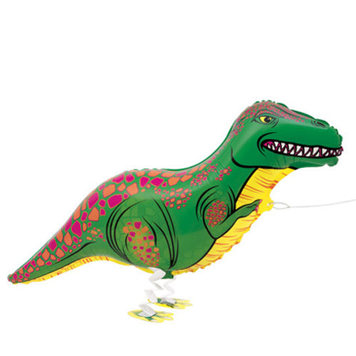 "35"" Walking Pet Balloon Dinosaur"