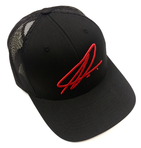 Namic | Namic Signature Mesh Trucker - Black/Red