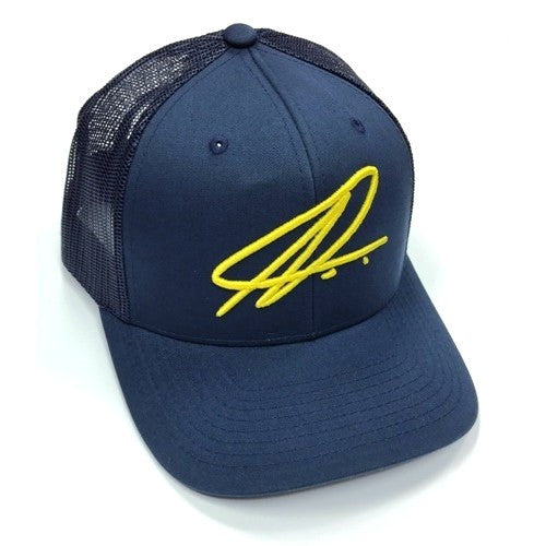 Namic | Namic Signature Mesh Trucker - Navy/Yellow