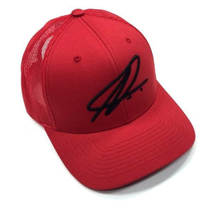 Namic | Namic Signature Mesh Trucker - Red/Black