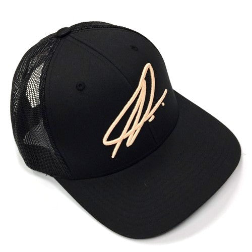 Namic | Namic Signature Mesh Trucker - Black/Rose Gold