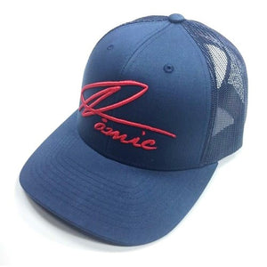 Namic | Namic Signature Mesh Trucker - Navy/Red