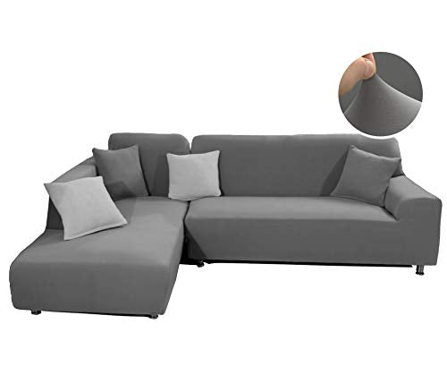 L Shape Couch Covers Set (Three Seater & Three Seater)