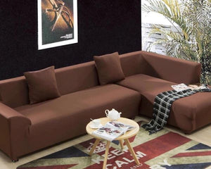 L Shape Couch Covers Set (Four Seater & Three Seater)