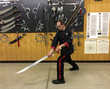 **PRE-ORDER**<br>White Lotus Two Handed Long Broadsword (Pai Lien Hsiao-Hui Chang Tao Ch'uan)