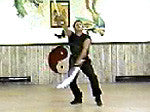 Broadsword / Saber (Two or Double Sabers): Tsui Hou Tang Swang Tao from Northern 5-Animal Shaolin