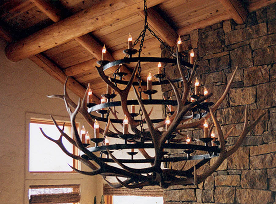 Crown of the Tetons Chandelier