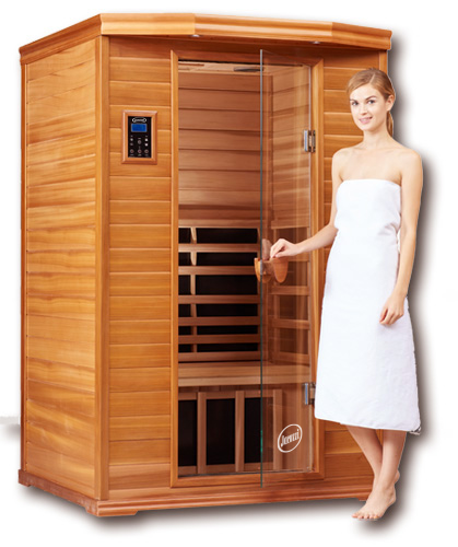 Clearlight Premier IS-2 TWO Person Far Infrared Sauna