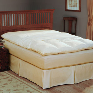 Pacific Coast® Feather Bed Cover With Zip Closure
