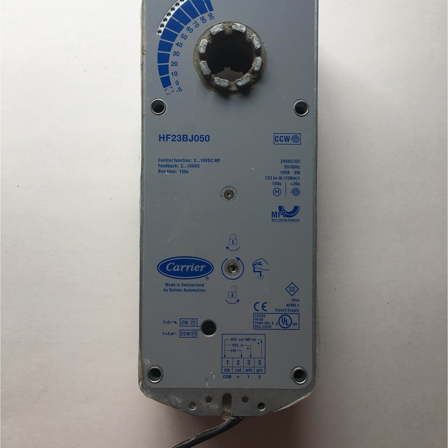 Carrier HF23BJ050 Actuator