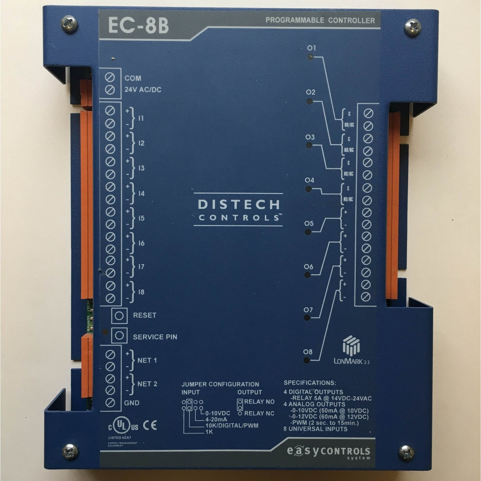 Distech Controls EC-8B Programmable Controller