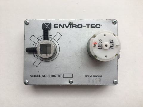 Enviro-Tec ETACTRT Actuator Supplement