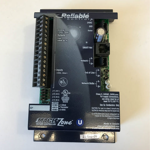 Reliable Controls Mach-Zone U Controller