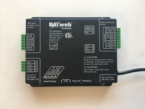 Bay Controls BAYweb BW-BCU2 Smart Thermostat