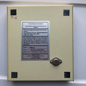 CSI 78060 Telephone Operated Controller