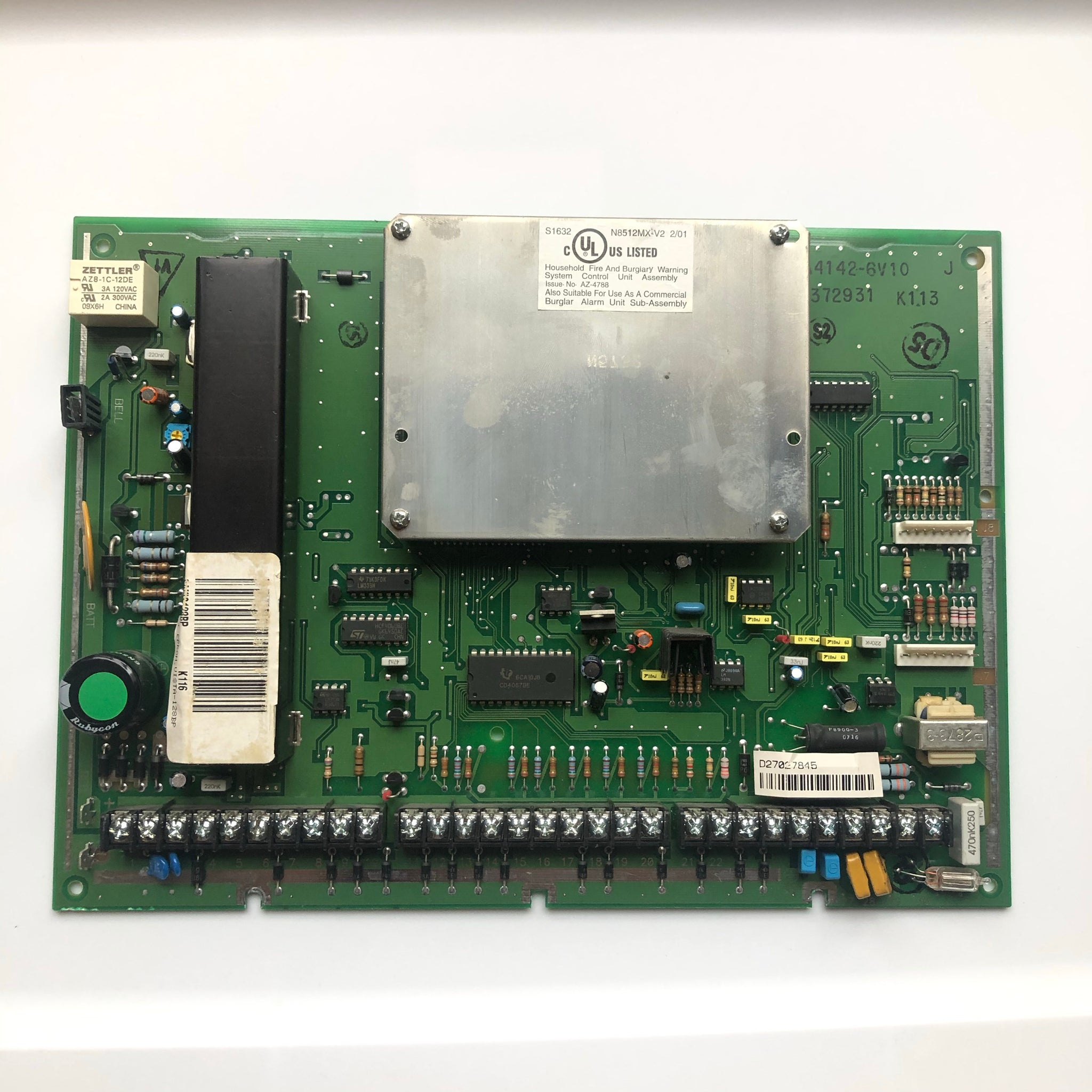 Honeywell N8512MX-V2 Board