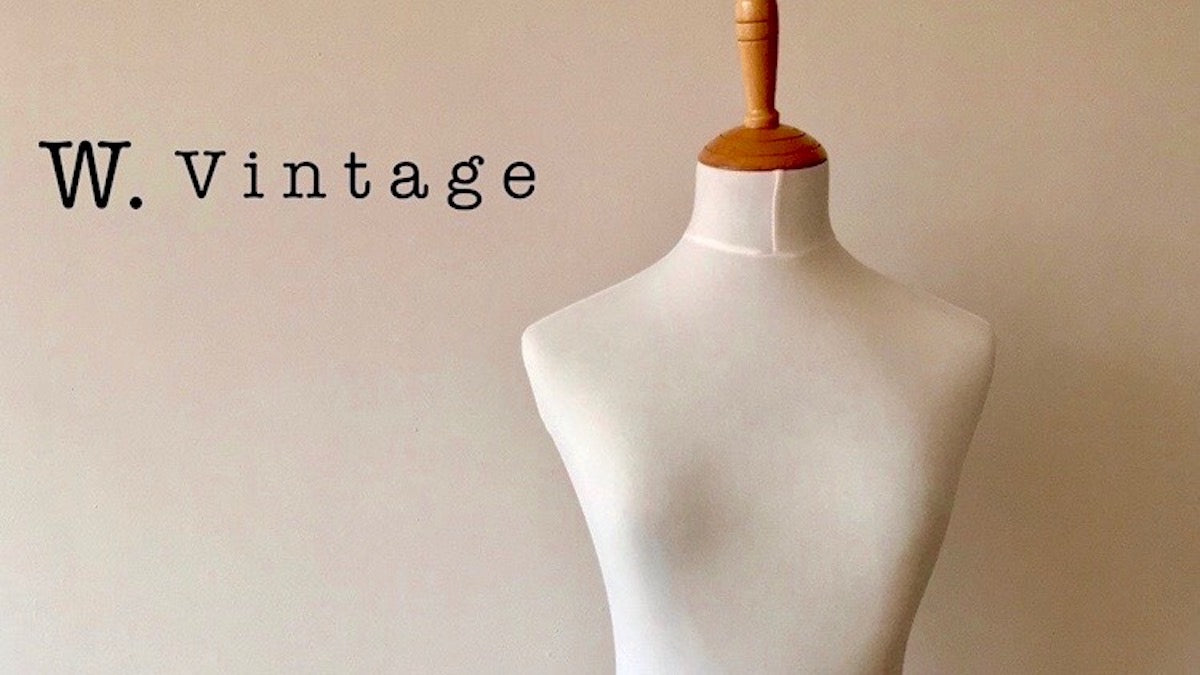 vintage women clothing