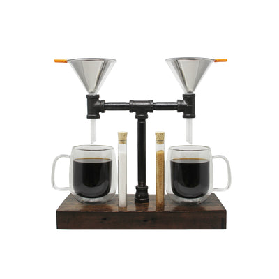 Double Pour Over Set - Iron & Sprout