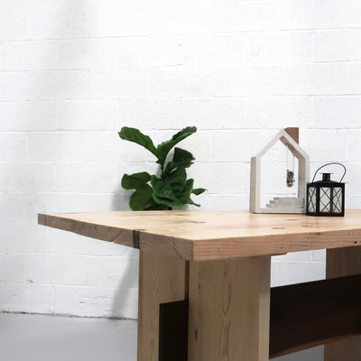 The Reclaimed Dining Table - Iron and Sprout