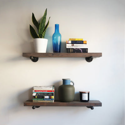 The Floating Shelf - Iron and Sprout