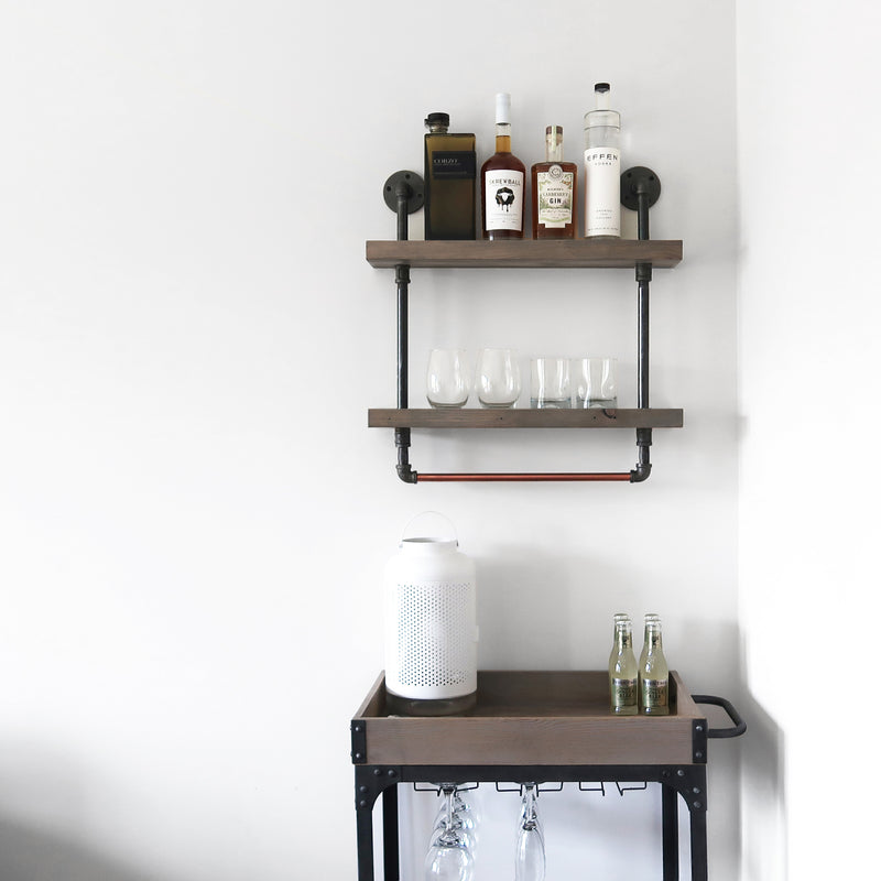 The Utility Shelf - Iron and Sprout