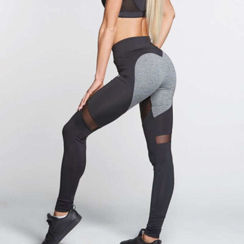 Heart Booty Leggings - Ocean Vista