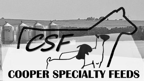 Cooper Specialty Cattle Feeds