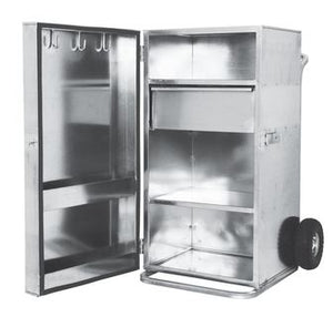 Single Door Galvanized Showbox
