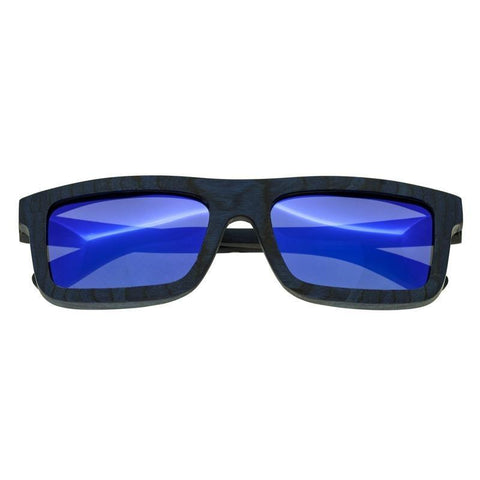 Spectrum Knox Wood Polarized Sunglasses - Blue/Blue SSGS115BL