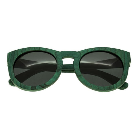 Spectrum Malloy Wood Polarized Sunglasses - Teal/Black SSGS122BK