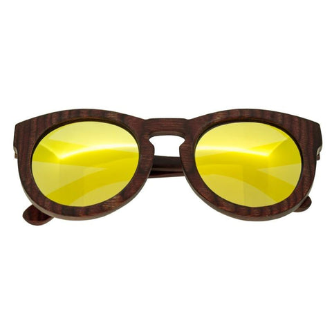 Spectrum Aikau Wood Polarized Sunglasses - Cherry/Gold SSGS124GD