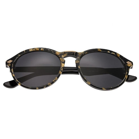 Bertha Kennedy Polarized Sunglasses - Gold Tortoise/Black BRSBR013G