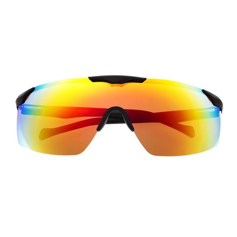 Sixty One Shore Polarized Sunglasses - Black/Rose Gold - Rainbow SIXS131RD