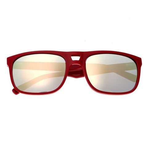Sixty One Morea Polarized Sunglasses - Red/Gold SIXS134GD