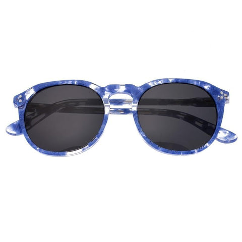 Sixty One Vieques Polarized Sunglasses - Blue Tortoise/Black SIXS135BK