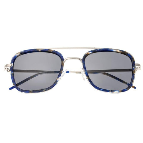 Sixty One Orient Polarized Sunglasses - Blue Tortoise/Black SIXS138BK
