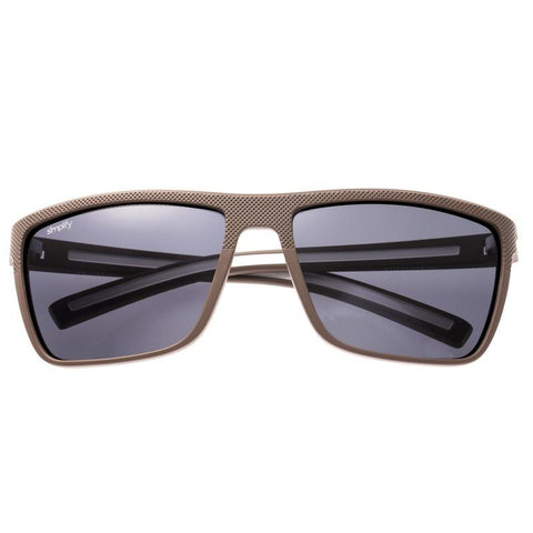 Simplify Dumont Polarized Sunglasses - Beige/Black SSU117-GY