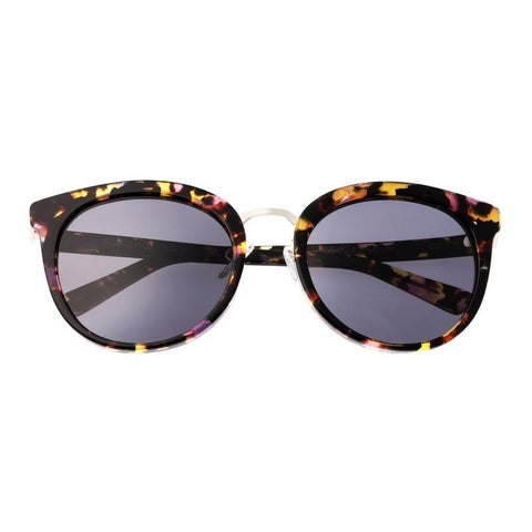 Bertha Lucy Polarized Sunglasses - Pink Tortoise/Black BRSBR022RG