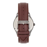 Simplify The 6900 Leather-Band Watch w/ Date - Brown SIM6905