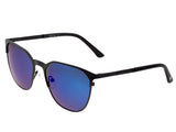Sixty One Corindi Polarized Sunglasses - Black/Purple-Blue SIXS102BK