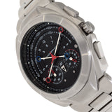 Morphic M79 Series Chronograph Bracelet Watch - Silver/Black MPH7902