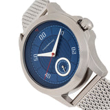 Morphic The M80 Series Bracelet Watch w/Date - Silver/Blue MPH8003