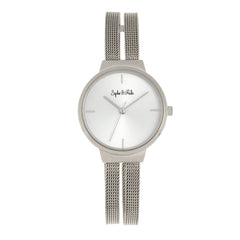 Sophie and Freda Sedona Bracelet Watch - Silver