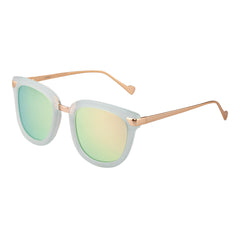 Bertha Arianna Polarized Sunglasses - Mint/Gold-Green