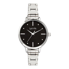 Sophie and Freda Milwaukee Bracelet Watch - Silver/Black