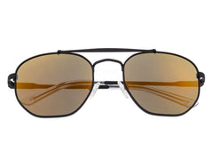 Sixty One Stockton Polarized Sunglasses - Black/Gold