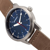 Breed Renegade Leather-Band Watch - Blue BRD7707