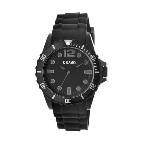 Crayo Fierce Unisex Watch - Black CRACR2301
