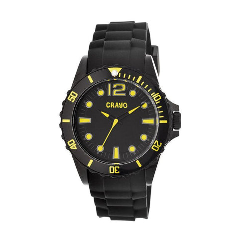 Crayo Fierce Unisex Watch - Yellow CRACR2304