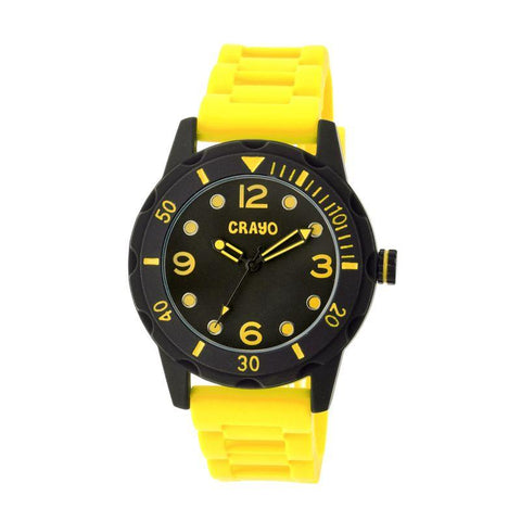 Crayo Splash Unisex Watch - Yellow CRACR2205